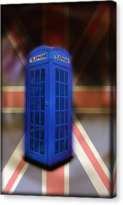 Tardis Canvas Print by Bill Cannon