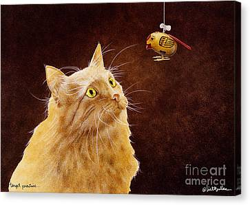 Target Practice... Canvas Print by Will Bullas