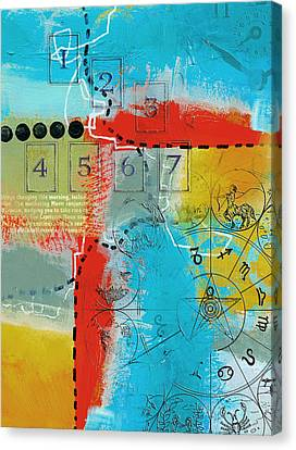 Tarot Art Abstract Canvas Print by Corporate Art Task Force