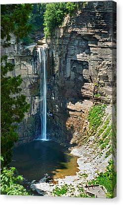 Taughannock Falls Canvas Print by Christina Rollo