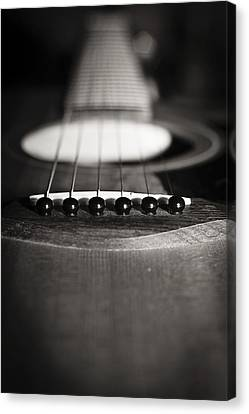 Taylor Guitar Canvas Print by Kelly Gibson