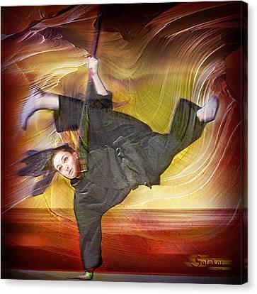 Taylor Lynch Action Portrait Canvas Print by Salakot