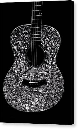 Taylor Swift's Guitar Canvas Print by Dan Sproul