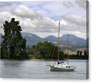 Tazman Bay Nz Canvas Print by Barbara Smith