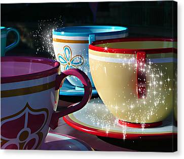 Tea For You Canvas Print by Timothy Ramos
