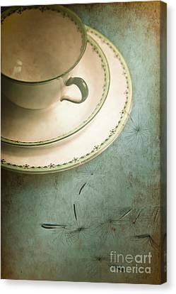 Tea Time Canvas Print by Jan Bickerton