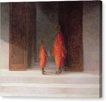 Teacher, 2005 Acrylic On Canvas Canvas Print by Lincoln Seligman