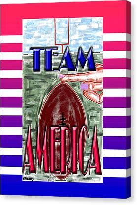 Team America 2 Canvas Print by Patrick J Murphy