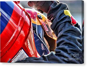 Team Redbull By Diana Sainz Canvas Print by Diana Sainz
