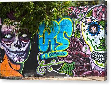 Teco Mural Canvas Print by John  Bartosik