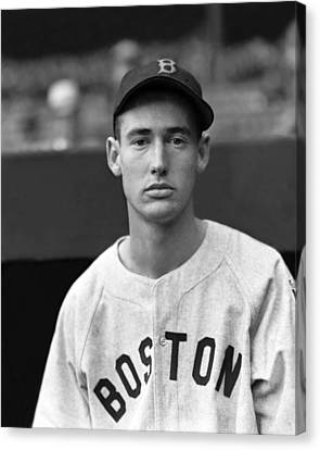Ted Williams Rookie Canvas Print by Retro Images Archive