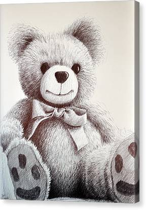 Teddy Canvas Print by Rick Hansen