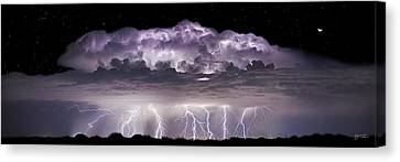 Tempest - Craigbill.com - Open Edition Canvas Print by Craig Bill