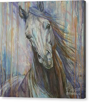 Tempest Canvas Print by Silvana Gabudean