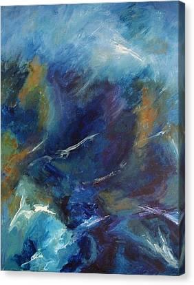 Tempest-sold Canvas Print by Lou Cicardo
