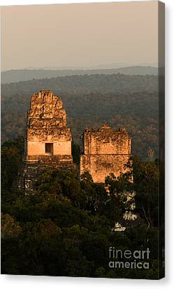 Temples 1 And 2 -  #3 Canvas Print by Dan Hartford
