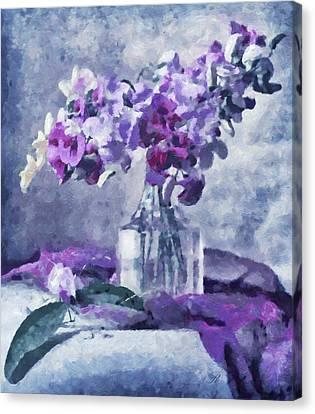 Tender Moments Still Life Canvas Print by Georgiana Romanovna