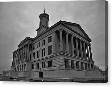 Tennessee State Capitol Building Canvas Print by Steven Richman