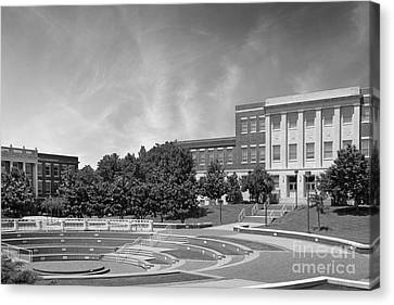Tennessee State University Averitte Amphitheater Canvas Print by University Icons