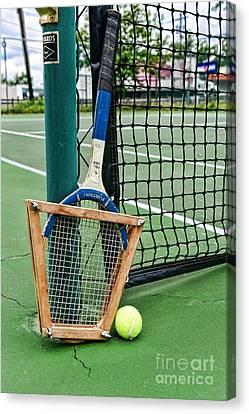 Tennis - Tennis Anyone Canvas Print by Paul Ward