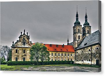 Tepla Monastery - Czech Republic Canvas Print by Juergen Weiss