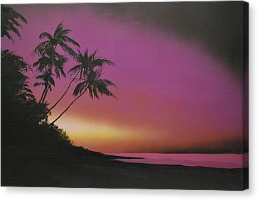 Tequilasunrise Canvas Print by DC Decker