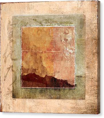 Terracotta Earth Tones Canvas Print by Carol Leigh