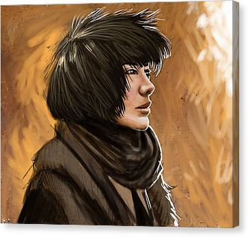 Test Subject 001 Canvas Print by Mark Zelmer