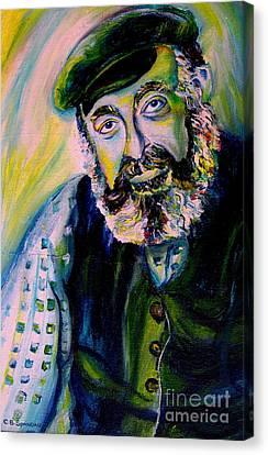 Tevye Fiddler On The Roof Canvas Print by Carole Spandau