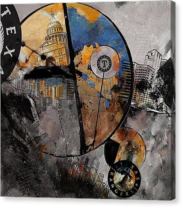 Texas - B Canvas Print by Corporate Art Task Force