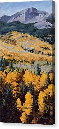 Texture Canvas Print by Mary Giacomini