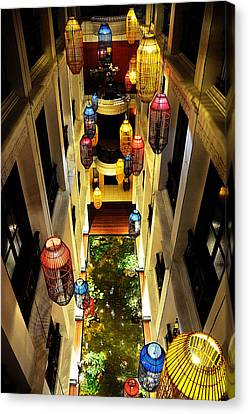 Thai Hotel Canvas Print by Money Sharma