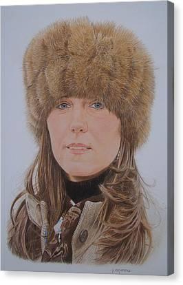 That Hat Canvas Print by Gary Fernandez