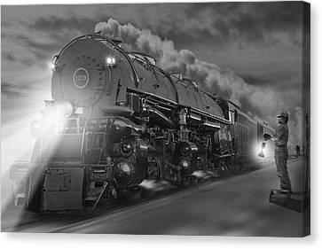 The 1218 On The Move 2 Canvas Print by Mike McGlothlen