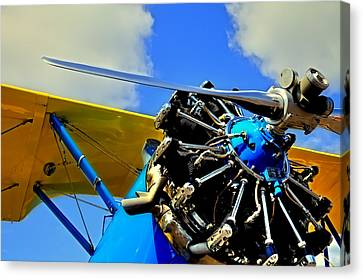 The 1940 Stearman Pt-18 Kadet Canvas Print by David Patterson