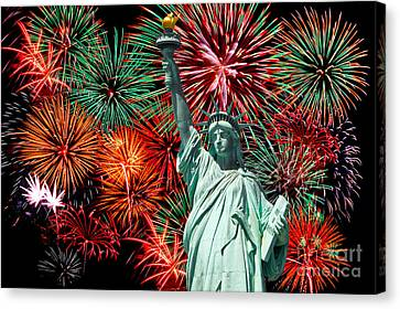 Independance Day Canvas Print by Anthony Sacco