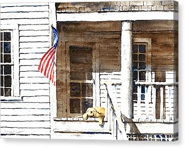 The 5th Of July Canvas Print by William Beaupre
