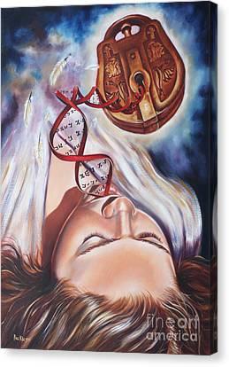 The 7 Spirits - The Spirit Of Wisdom Canvas Print by Ilse Kleyn