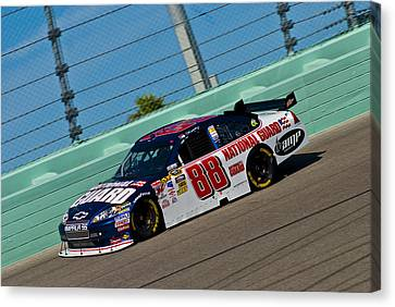 The 88 Car Canvas Print by Kevin Cable