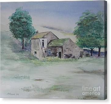 The Abandoned House Canvas Print by Martin Howard