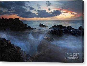 The Abyss Canvas Print by Mike  Dawson