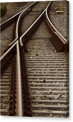 The Age Of Rail Canvas Print by Odd Jeppesen
