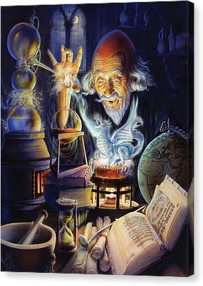 The Alchemist Canvas Print by Andrew Farley