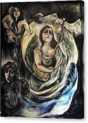 The Alchemist Canvas Print by Hilary Dow