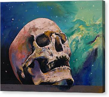 The Alchemist Canvas Print by Michael Creese