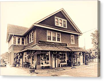 The Allenwood General Store Canvas Print by Olivier Le Queinec