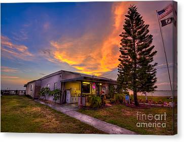 The American Legion Canvas Print by Marvin Spates