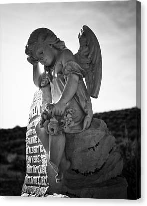 The Angel Of Bodie Canvas Print by Troy Montemayor