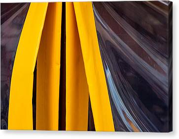 The Angle Project - Covered Angle - Featured 2 Canvas Print by Alexander Senin