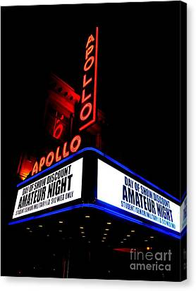 The Apollo Theater Canvas Print by Ed Weidman